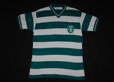 Camisola usada em jogo do Sporting 1972