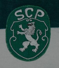 Camisa usada em jogo Sporting Portugal 1971/72