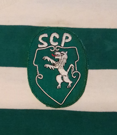1979/80. Camisola do Sporting, modelo pré-época ou jogo amigável
