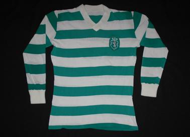 camisola do Sporting 1979/80. Camisola de jogo
