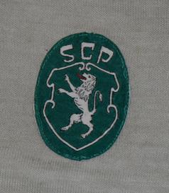 camisola de jogo do Sporting muito antiga