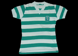 Sporting Lisbon matchworn unknown player 1976 1977 Palhares