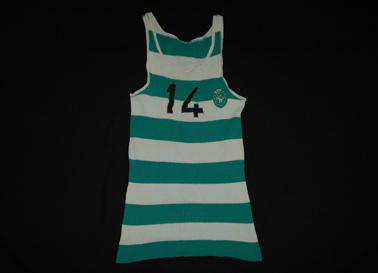 Sporting, camisola do basquetebolista anos 1960 José Mário Soares