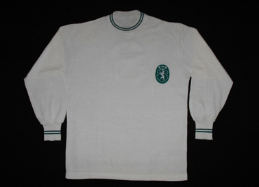 1965/66 a 1967/68. Camisola do Sporting alternativa branca, muito rara