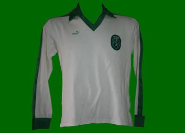 camisola de jogo alternativa Puma Sporting 1982