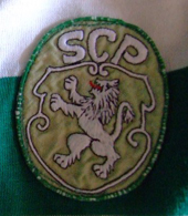 From 1965/66 to 1971/72 or 1972/73. Hooped Sporting Lisbon shirt