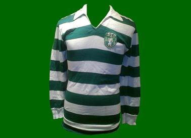 A camisola do Morais da final da Taça das Taças 1964