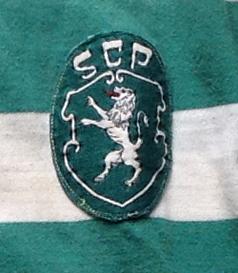 Camisola de jogo de mangas compridas do Fraguito Sporting 1976/77 a 1978/7