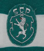 Camisola de jogo Sporting Bastos defesa central 1972 1974 emblema