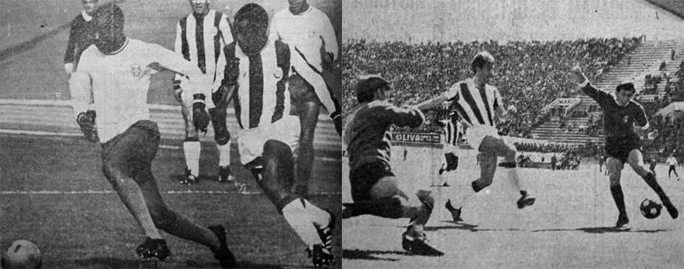 Equipamentos alternativos do Sporting, 1965 a 1969