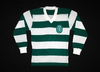 camisola do Sporting de jogo 1970, da formação