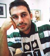 camisolas de jogo de André Cruz, marcador de livres directos do Sporting