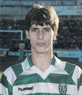 1986/87. Camisola de futebol de Fernando Mendes