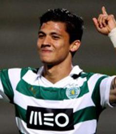 camisola do jogador de futebol do Sporting Fredy Montero