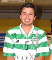 Camisola de jogo de 2010/11 do Gonçalo Favinha, jogador de hóquei em patins do Sporting de Tomar
