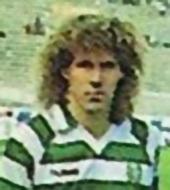 Sporting camisola de jogo Eskilsson 1988 1989 logo