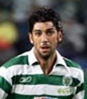 os equipamentos do jogador de futebol do Sporting Luis-Loureiro
