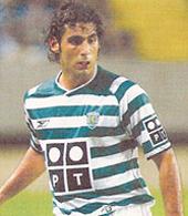 equipamentos de jogo do jogador de futebol do Sporting Mário Sérgio
