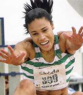 polo de treino de Naide Gomes, campeão do mundo e da europa em salto em comprimento, pentatlo e heptatlo