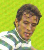 Paulo Sergio Gonçalves Sporting Portugal UEFA Cup 2004
