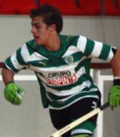equipamentos de jogo de Bekas (Pedro Delgado) - jogador de hoquei do Sporting