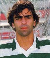 1994/1995. Camisola usada em jogo por Peixe, jogador de futebol do Sporting. Adidas com patrocínio FAXE