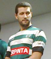 equipamento de hóquei em patins de jogo do Ricardo Figueira