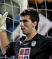 guarda redes Rui Patricio usada em jogo 2006/07
