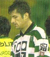 Sporting Portugal matchworn by Spehar Croatia Brugge Belgium 2000 01