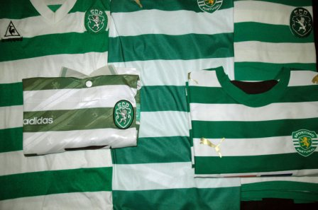 equipamentos do Sporting comparados