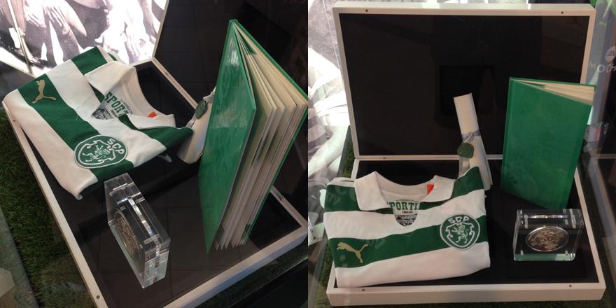 Caixa de luxo limitada da camisola comemorativa da Taça das Taças - 100 unidades