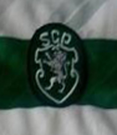 1996/97, fabricated Figo Sporting match worn jersey