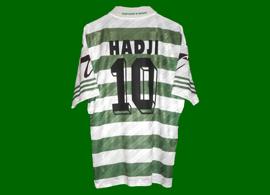 Equipamento réplica da loja, personalizado com o nome e número do Hadji. Não é equipamento de jogo do Sporting