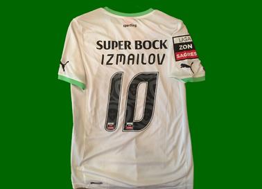 2011/12. Camisola montada, não é de jogo nem do Izmailov