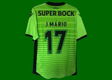 2016/17. Camisola Champions falsa do João Mário