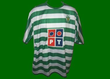 Todos os detalhes estão errados nesta camisola do Sporting Puma 2006/07