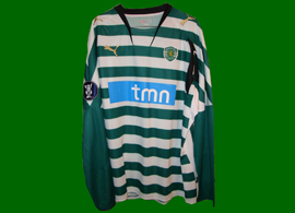 Sporting Portugal Lisbonne maillot 2007 2008