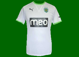 camisola away falsa do Sporting 2011/12