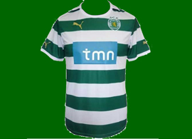 camisola falsa do Sporting 2011/12