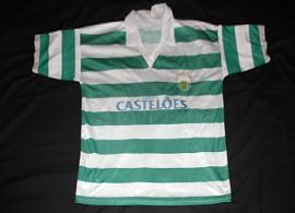 camisola do Sporting contrafeita 1994 95 ASAE