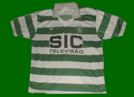 Sporting 1995 96 Imperia fake retro shirt