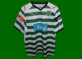 patched up replica shirt Sporting Lisbon