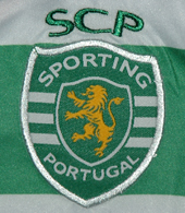 Counterfeit Sporting Lisbon soccer jersey Made in China