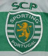 Camisola falsa de péssima qualidade vinda da China Sporting 2012 2013