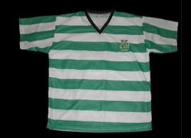 equipamento de futebol do Sporting 08 09 falso com emblema e SCP