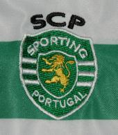 equipamento Sporting 08 09 falso com emblema e SCP