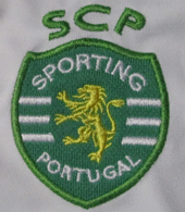 2013. Sporting Lisbon white jacket