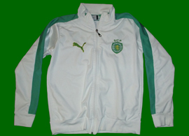 2013. Sporting Lisbon white jacket. For 5 euros a bargain!
