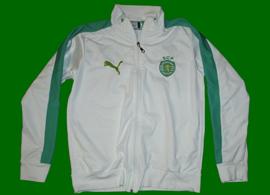 2013. Blusão contrafeito do Sporting, branco, comprado nalguma feira