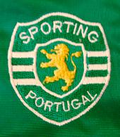 Blusão do Sporting comprado numa feira em Portugal